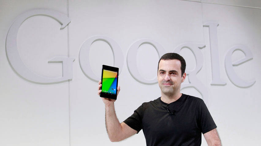 Hugo Barra with Nexus 7