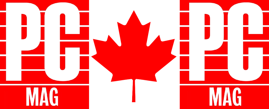 PC Mag & Canadian Flag