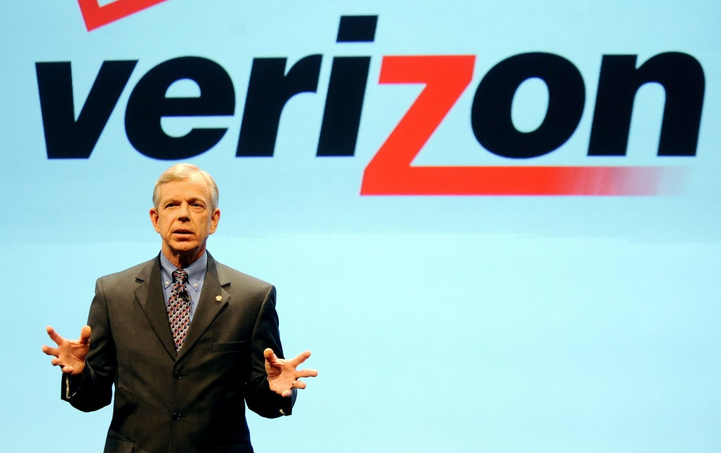 Verizon CEO Lowell McAdam
