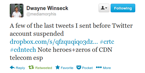 Winseck re: Last Tweets
