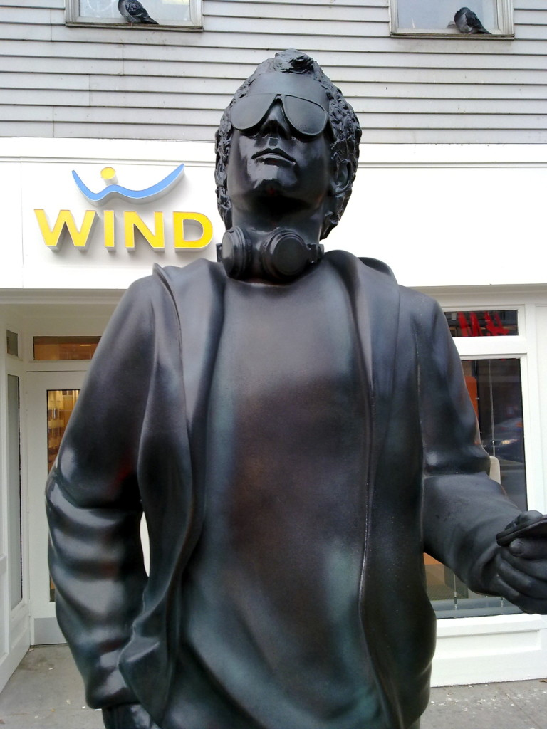 Normob Statue at WIND Mobile