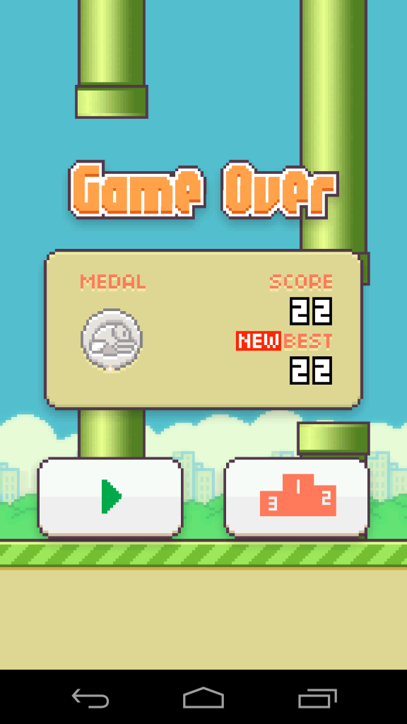 Flappy Bird High Score