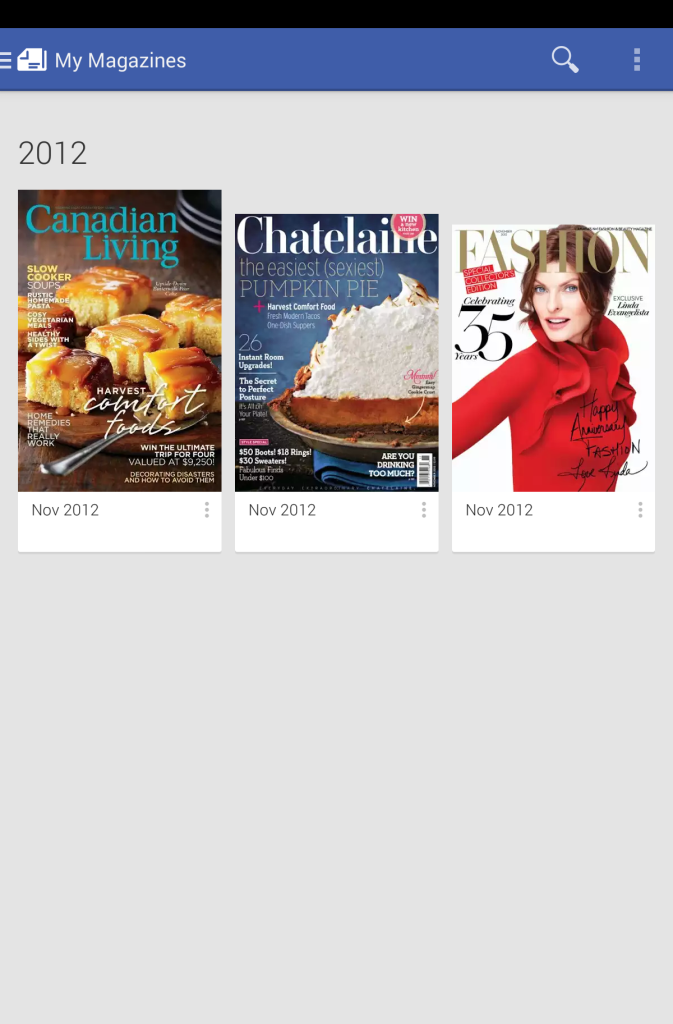 Newsstand - My Mags