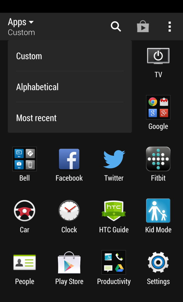 Bell M8 Apps