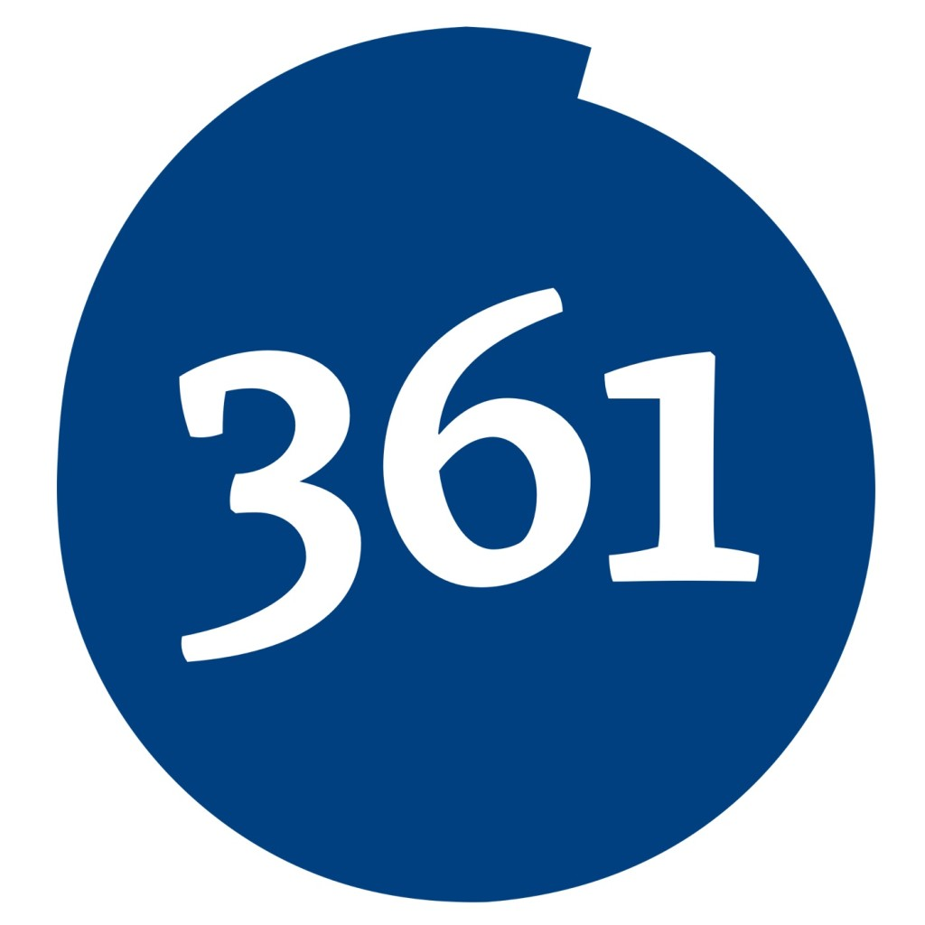 361 Degrees Logo