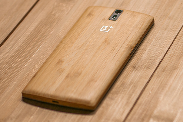 OnePlus One Bamboo Cover