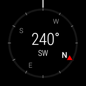 Android Wear Compass
