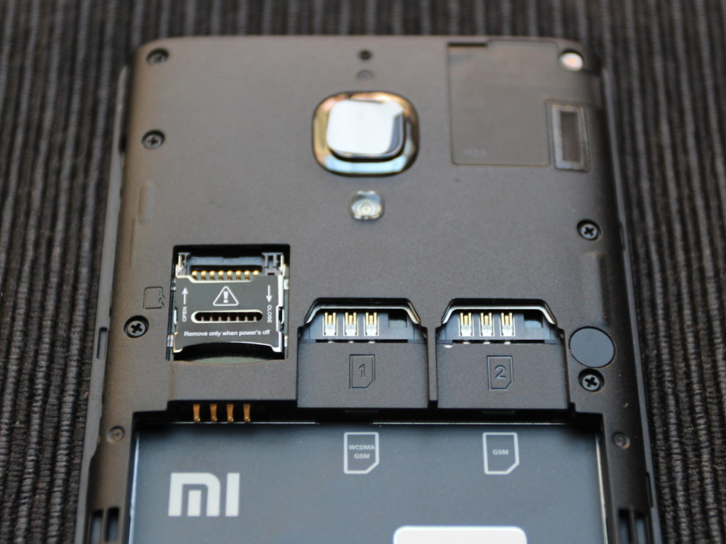 Redmi 1S Backside