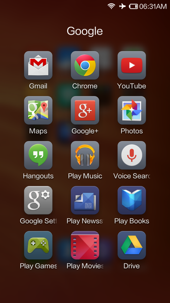 Google Apps on the Redmi 1S