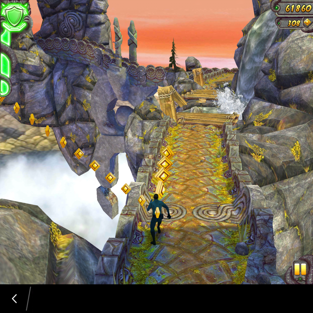 Temple Run 2 Gameplay on the BlackBerry Passport