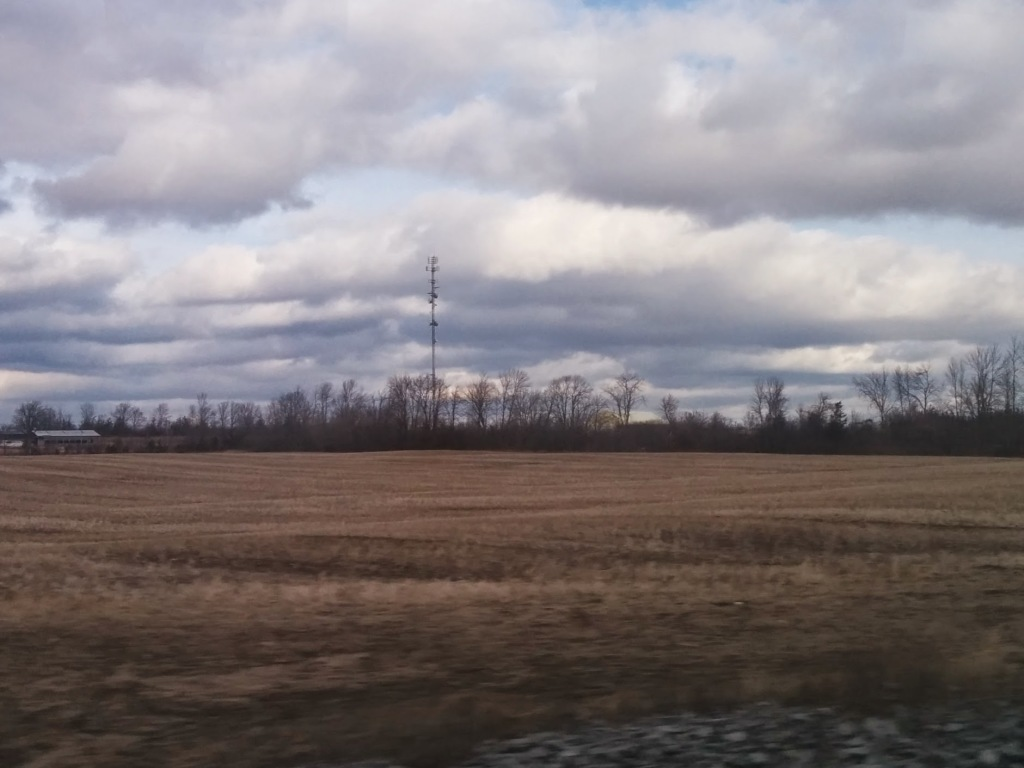 Cellular Tower, somewhere in Ontario...
