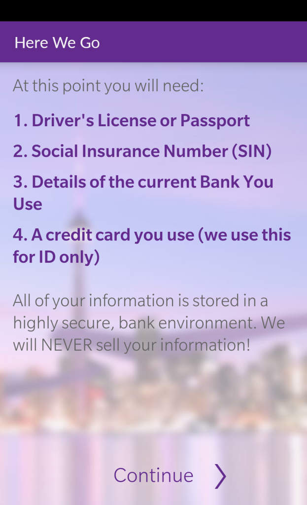 ZenBanx ID Requirements