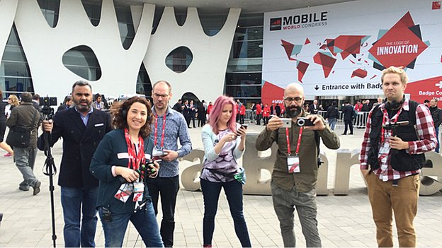 BBC Click at MWC