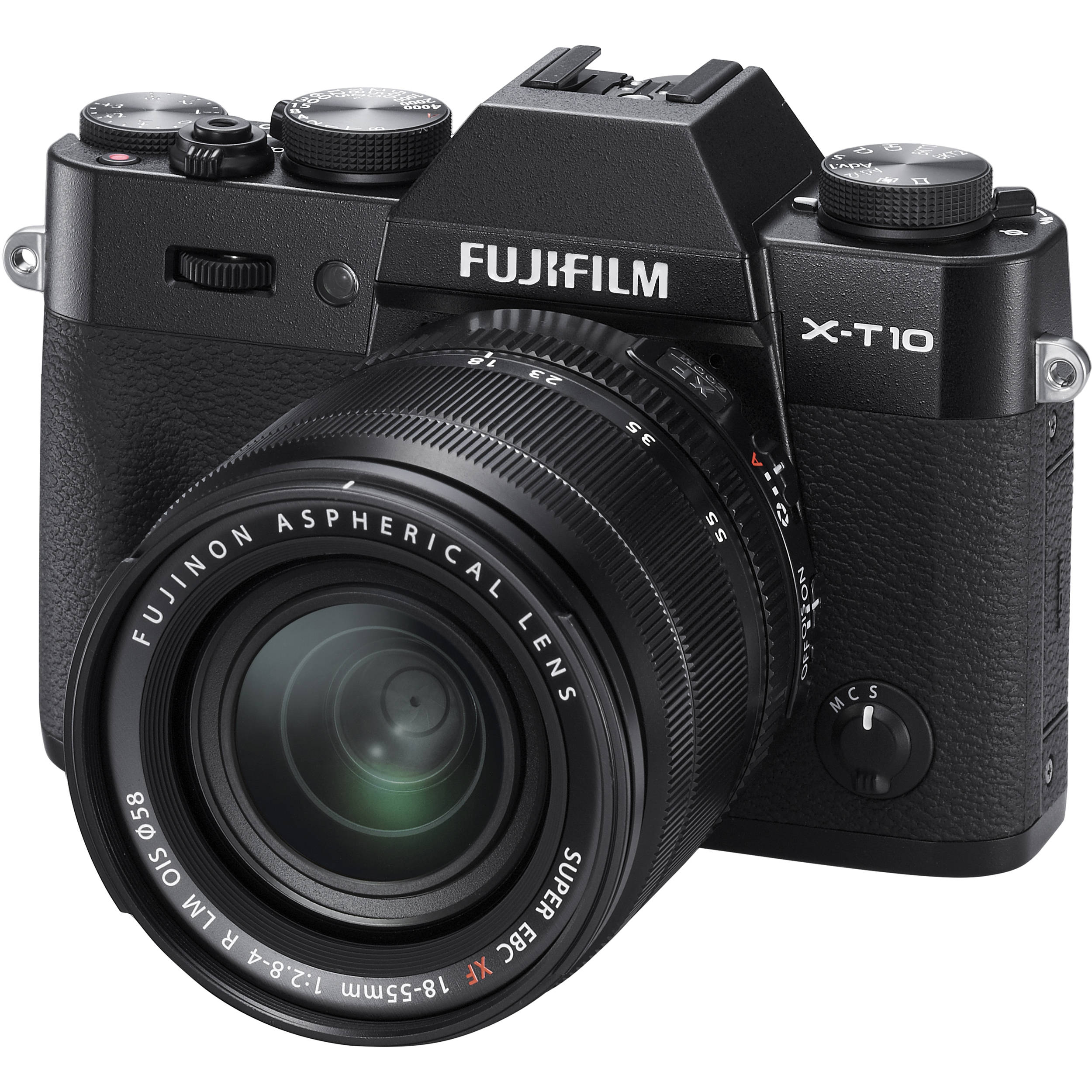 Fuji X-T10 with 18-55mm Kit Lens