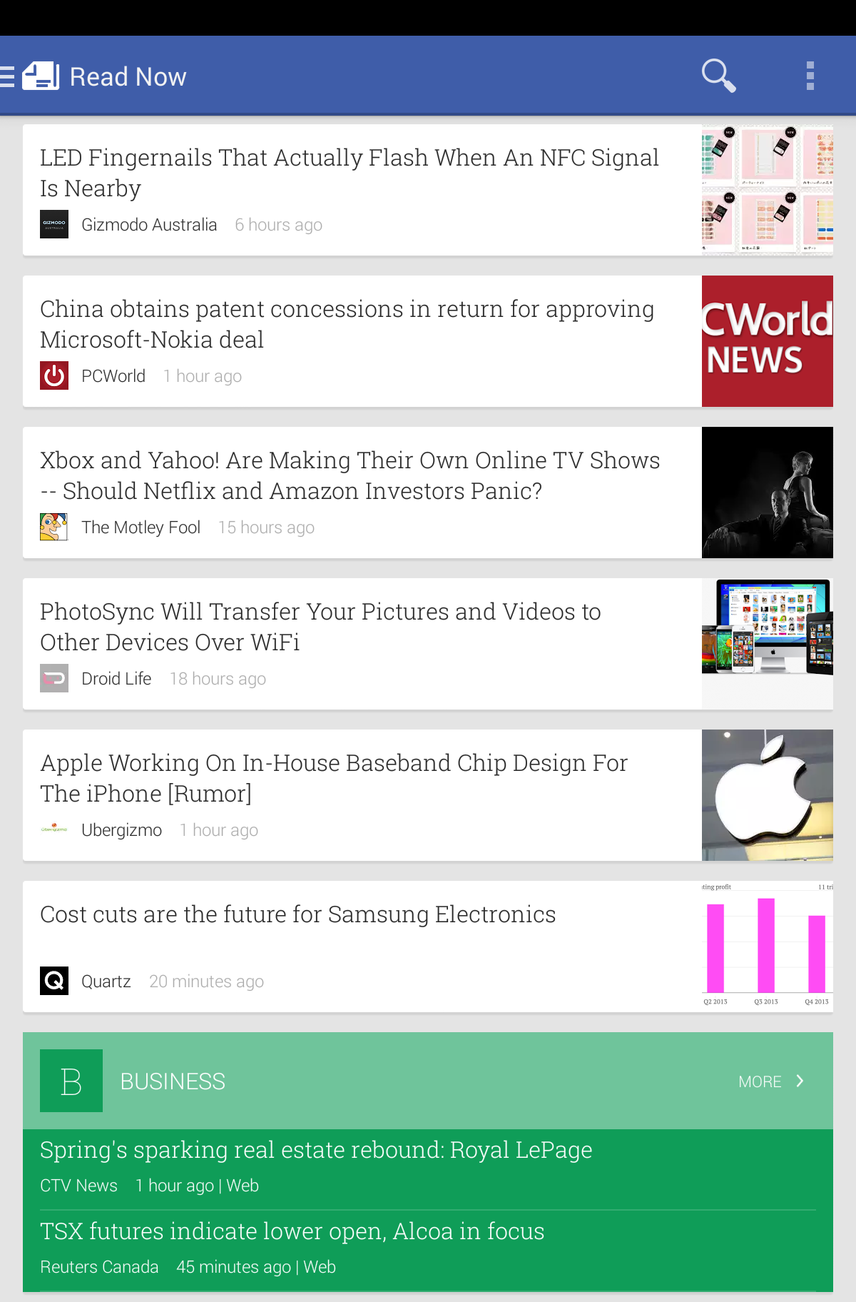 News that Doesn't Flip: A Quick Look at Google Play