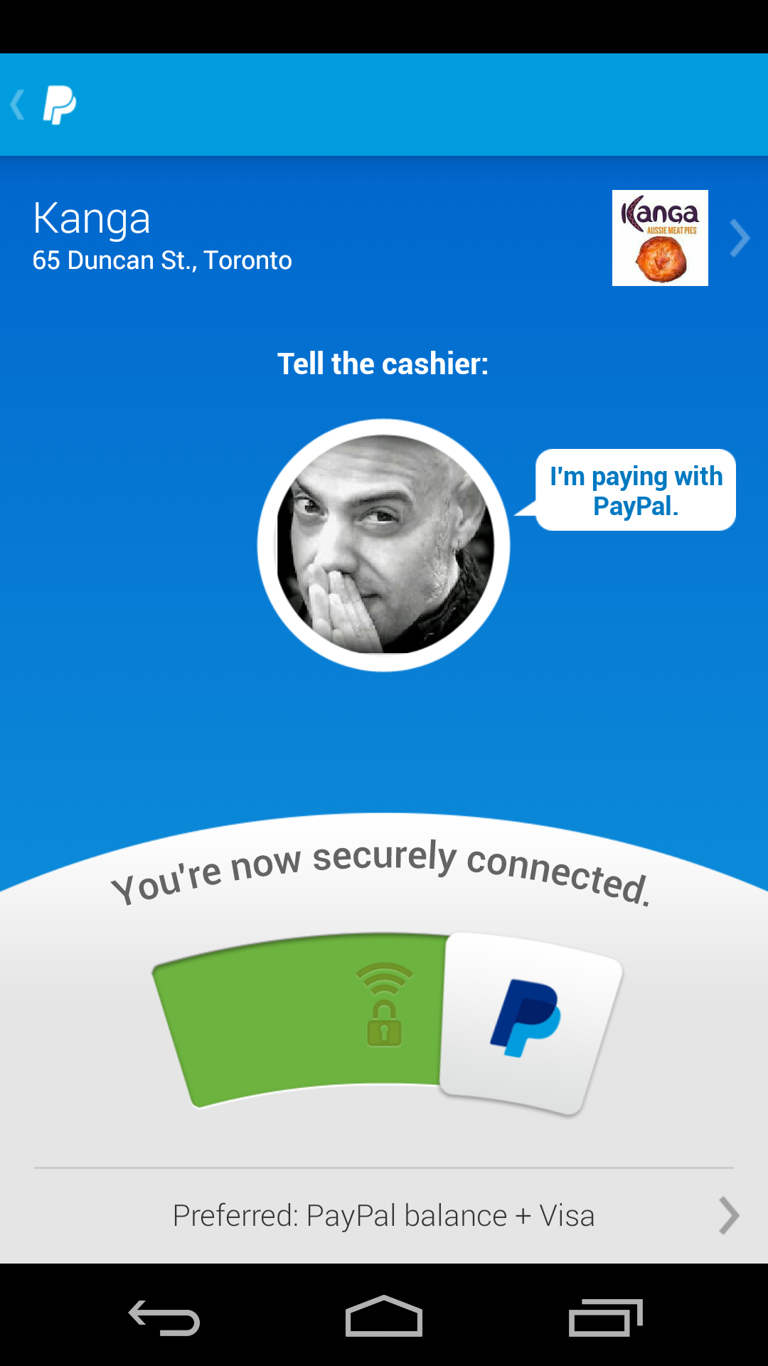 PayPal – Another Tap and Pay Contender – acurrie me